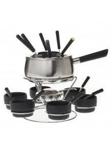 Set fondue Oslo, inox, 22...