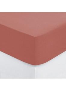 Cearsaf elastic Blush Red,...