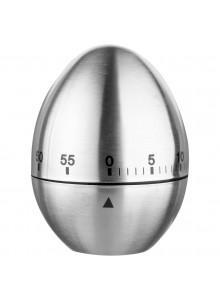 Timer inox Alexa, 6x7 cm